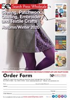 Sewing, Patchwork, Quilting, Embroidery and Textile Crafts Autumn/Winter 2020