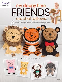 My Sleepy-Time Friends Crochet Pillows