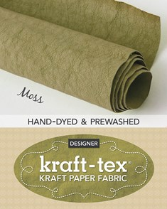 kraft-tex® Roll Moss Hand-Dyed & Prewashed