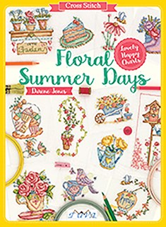 Cross Stitch: Floral Summer Days